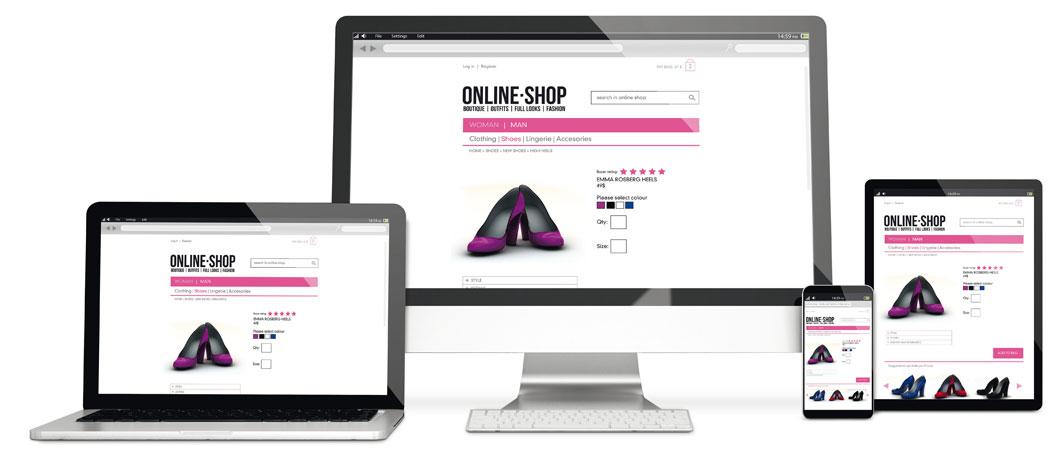 Ihr Online-Shop / Ihre Website